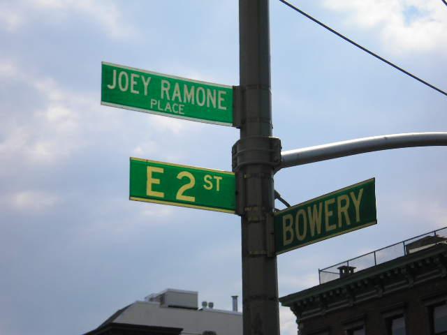 The Ramones; Forest Hills Queens