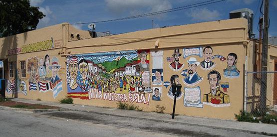 Little Havana in Miami Florida