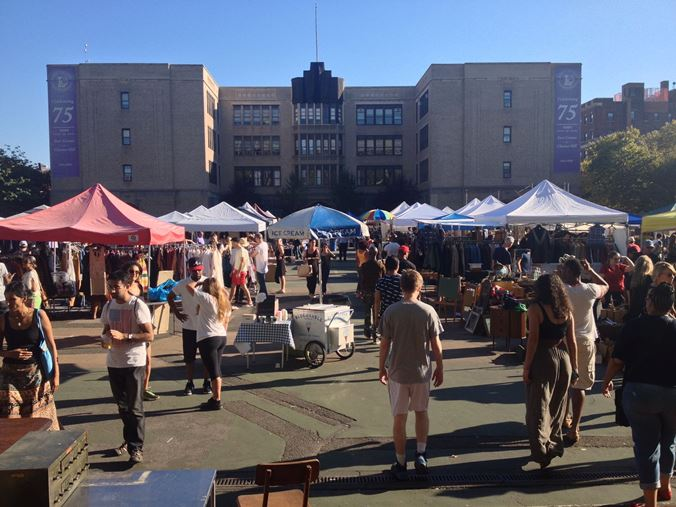 Visiting the Brooklyn Flea Market and Smorgasburg