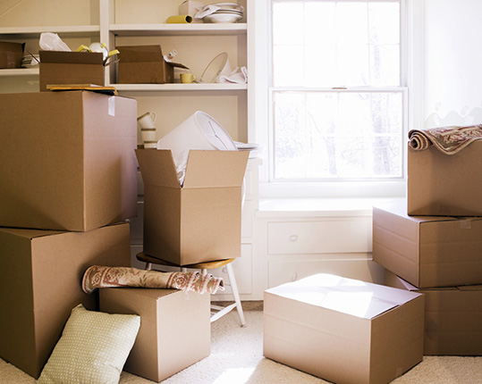 Moving Hack- Organize Boxes First