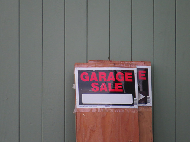How To Have A Garage Sale