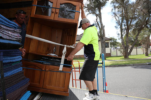 Hire Moving Professionals to move big household items