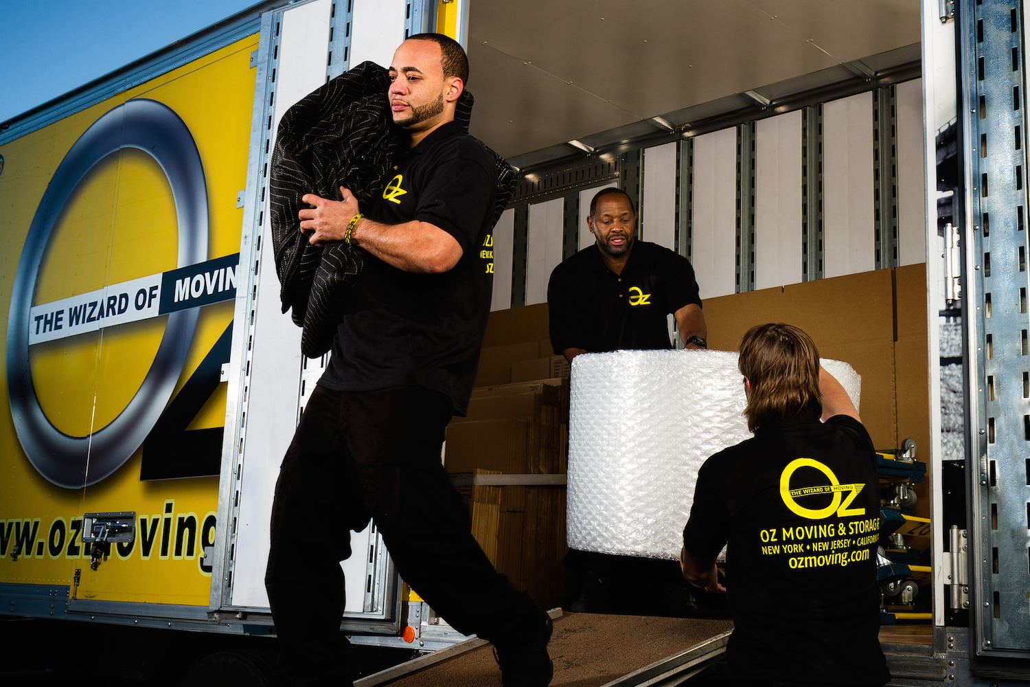 Oz Moving & Storage movers