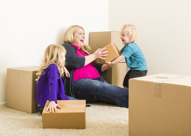 Keep Kids lives as normal as possible when moving
