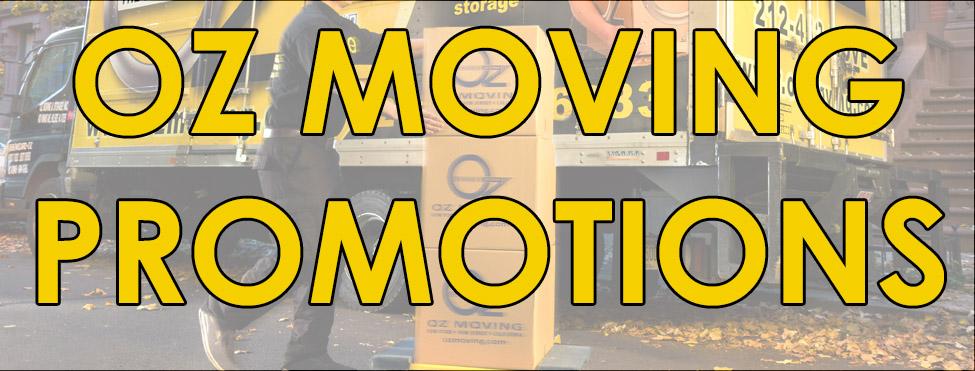 Oz Moving Promo Codes | Oz Moving & Storage