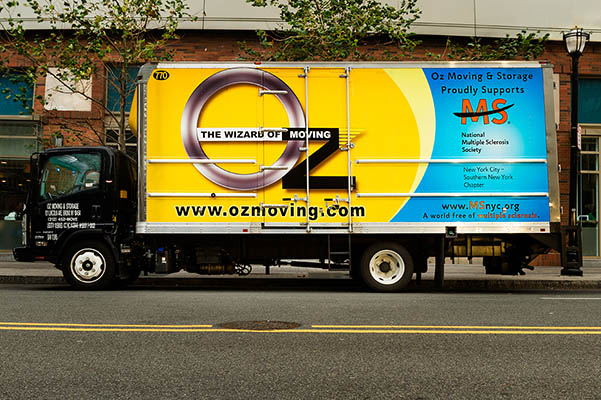 Oz Moving Truck Supporting MS