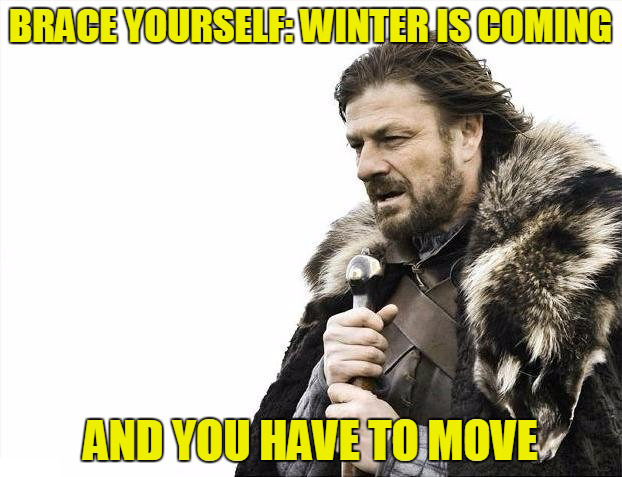 How To Move in the Winter